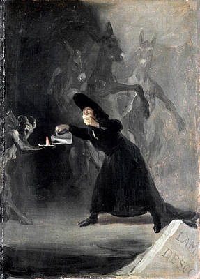 Photograph - Goya: Bewitched, 1798 by Granger