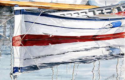 Gozzo Bianco Print by Giovanni Marco Sassu