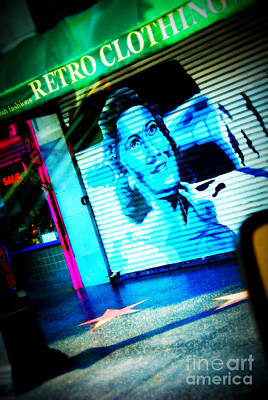Grab A Star On Sunset Boulevard In Hollywood Art Print by Susanne Van Hulst