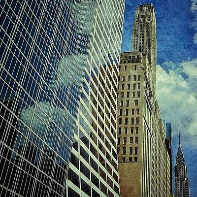 Skyscrapers Wall Art - Photograph - Grace / Salmon / 500 Fifth Ave & by Joel Lopez