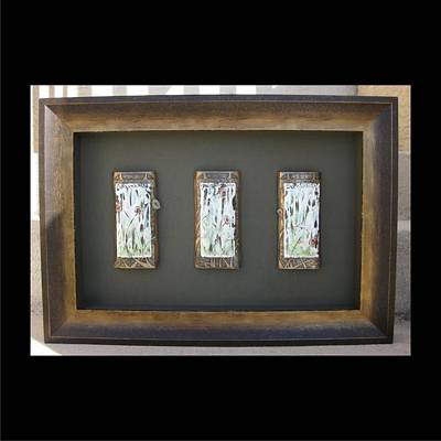 Mixed Media - Grace Framed by Brenda Berdnik