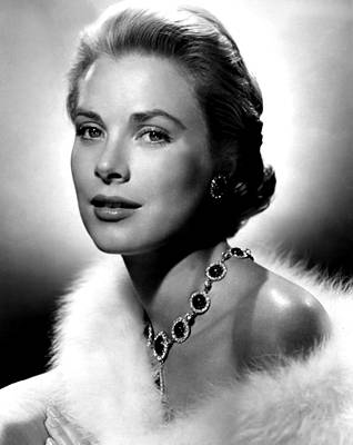 Colbw Photograph - Grace Kelly, 1955 by Everett