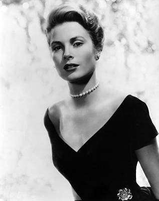 Grace Kelly, 1956 Art Print by Everett