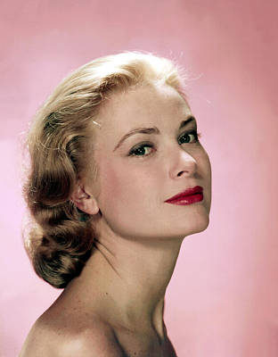 Grace Kelly Art Print by Everett