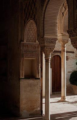 Photograph - Graceful Alhambra Arches by Lorraine Devon Wilke