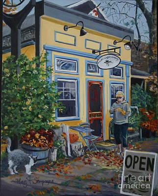 Painting - Grackle's  by Margit Sampogna