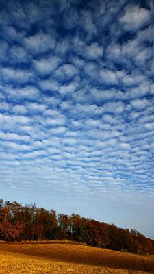 Gradient Clouds Original by Janos Vajda