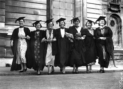 Photograph - Graduates by Richards