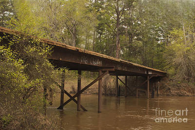 Mixed Media - Graffiti Bridge by Kim Henderson