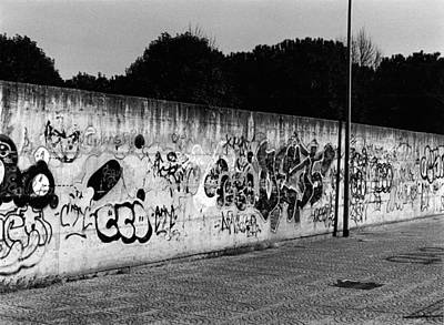 Basilio Photograph - Graffiti In Rome by Luca Rosa