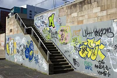 Graffiti Art Print by Mark Williamson