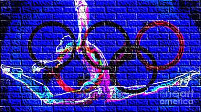 Physical Graffiti Digital Art - Graffiti On The Wall by Alexandra Jordankova