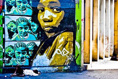 Graffiti Art Print by Stefano  Figalo