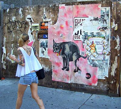 Graffiti Art Print by Steven Huszar