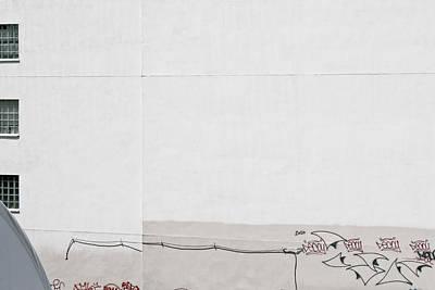 Photograph - Graffiti Wall Art by Ann Murphy