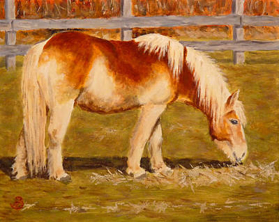 Art Print featuring the painting Grahm by Joe Bergholm