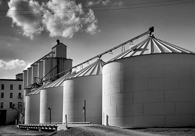 Black Commerce Photograph - Grain Mill II by Steven Ainsworth