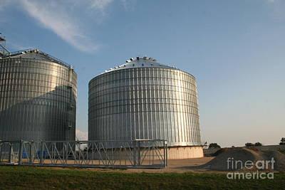 American Milestones - Grain storage bin by Roger Look