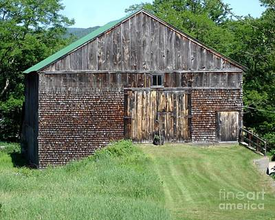 Photograph - Grammie's Barn by Kerri Mortenson