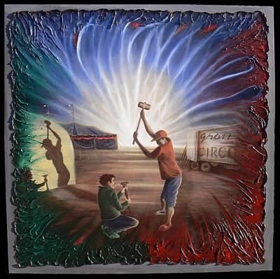 Rossmore Painting - Gran Circo Mexico by Galeria Rossmore