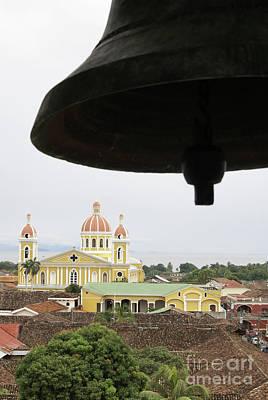 Photograph - Granada Church Bell Nicaragua by John  Mitchell