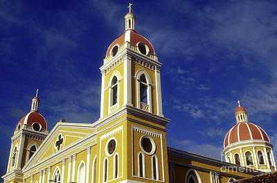 Photograph - Granada Nicaragua Cathedral by John  Mitchell