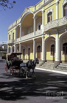 Photograph - Granada Street Scene Nicaragua by John  Mitchell