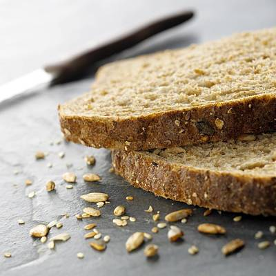 Granary Bread Art Print by Mark Sykes