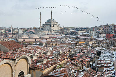 Grand Bazaar Photograph - Grand Bazaar In Istanbul by Salvator Barki