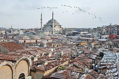 Flock Of Bird Photograph - Grand Bazaar In Istanbul by Salvator Barki