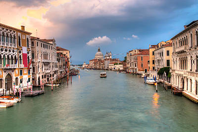 Y120907 Photograph - Grand Canal by Emad Aljumah