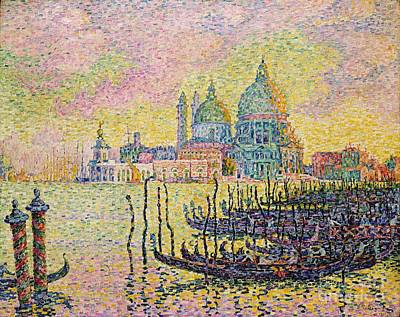Painting - Grand Canal Venice by Pg Reproductions