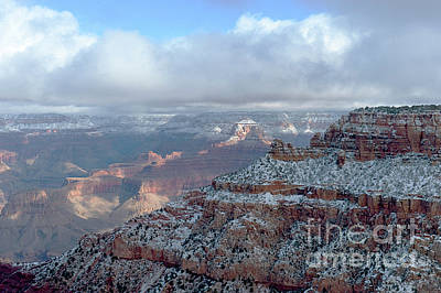 Photograph - Grand Canyon - Morning Storm by Sandra Bronstein