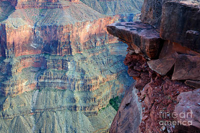 Grand Canyon A Place To Stand Print by Bob Christopher
