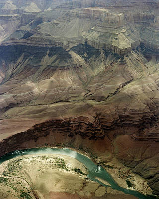 Photograph - Grand Canyon And Colorado River by M K Miller