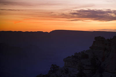Grand Canyon Photograph - Grand Canyon Bathed In Blue by Andrew Soundarajan