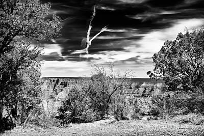 Grand Canyon Cloud Patterns Art Print
