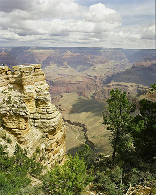 Photograph - Grand Canyon From The Rim by M K Miller