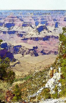 Digital Art - Grand Canyon by Ian Merton