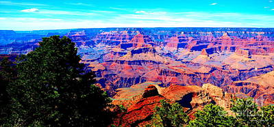 Photograph - Grand Canyon II by Christine S Zipps