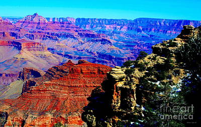 Photograph - Grand Canyon IIi by Christine S Zipps