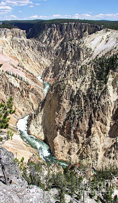 Photograph - Grand Canyon Of The Yellowstone 2 by Shawn Naranjo