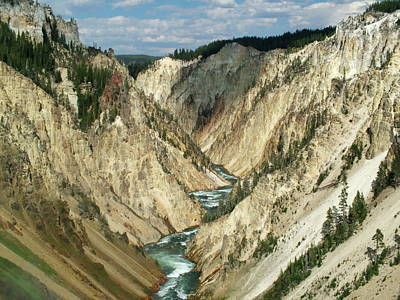 Photograph - Grand Canyon Of The Yellowstone by Ken Smith