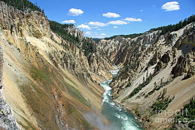 Photograph - Grand Canyon Of The Yellowstone by Shawn Naranjo