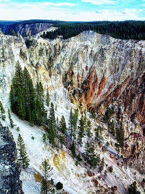 Photograph - Grand Canyon Of Yellowstone by Kelly Reber
