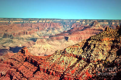Photograph - Grand Canyon On A Clear Day by Tara Turner