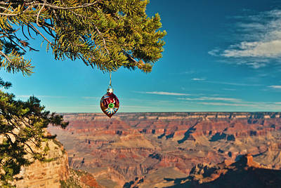 Photograph - Grand Canyon Ornament by Lou  Novick
