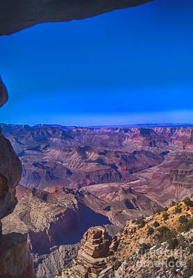 Grand Canyon Overlook Art Print by Jeremy Linot