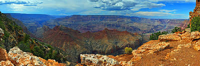 Photograph - Grand Canyon Panoramic View by Gene Sherrill