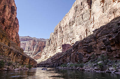 Grand Canyon Rafting Art Print